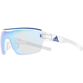 adidas Zonyk Aero Pro Glasses L, white shiny/vario blue